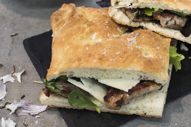 Bůček v sandwichi