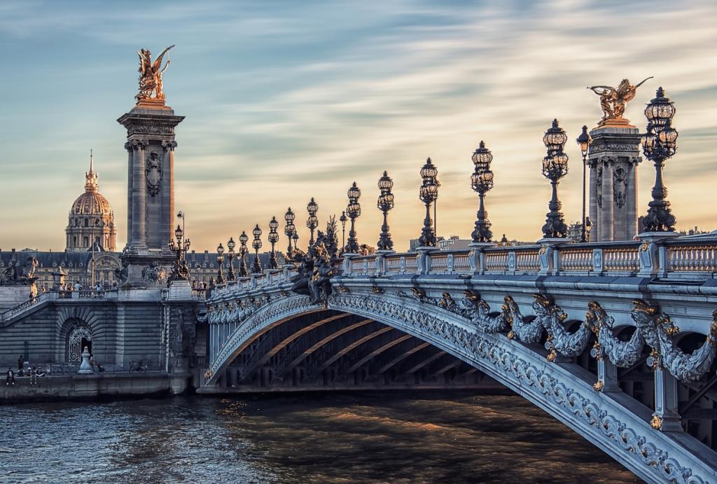 Andělský most, Paříž